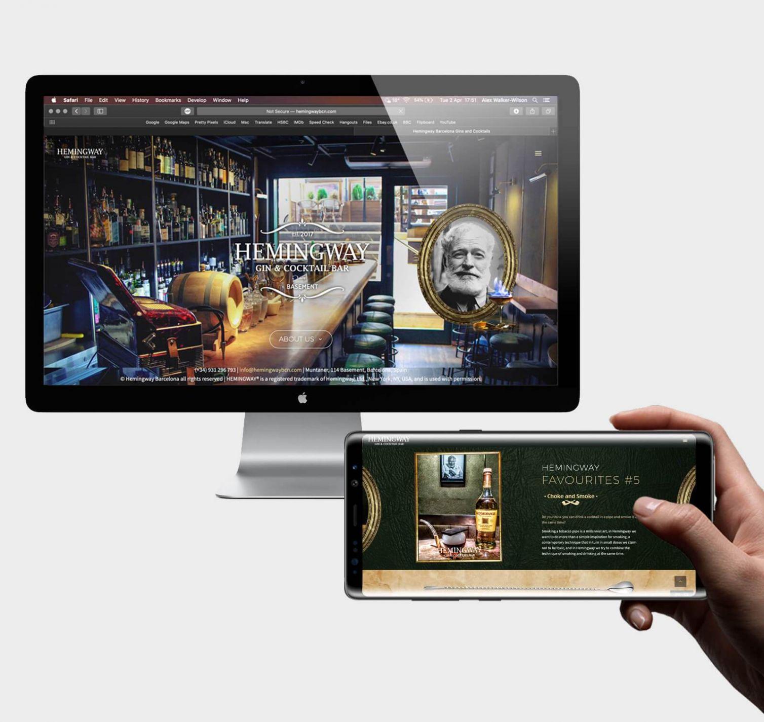 Hemingway Barcelona Website