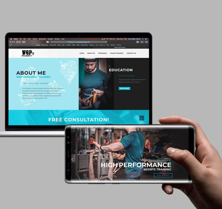 Personal Trainer (W6P) Site