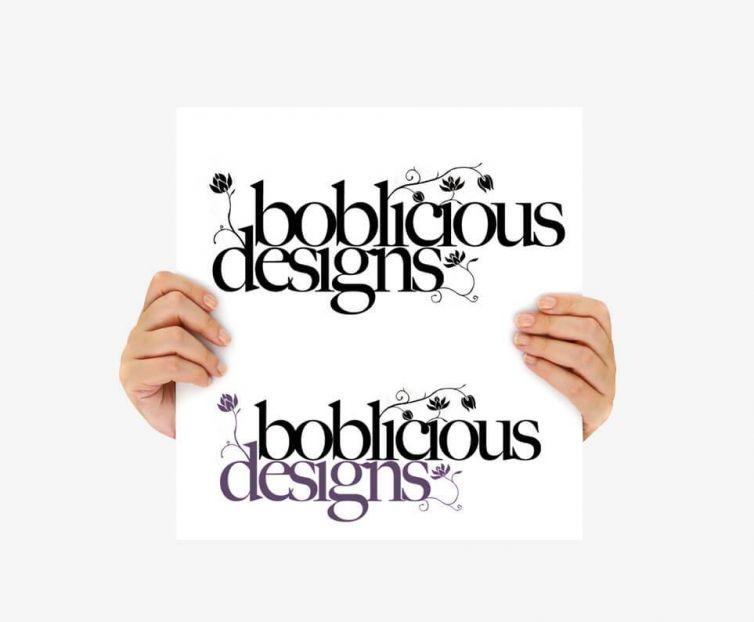 Logo – Boblicious Designs